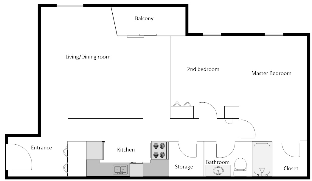 Mapleview 2 bedrooms