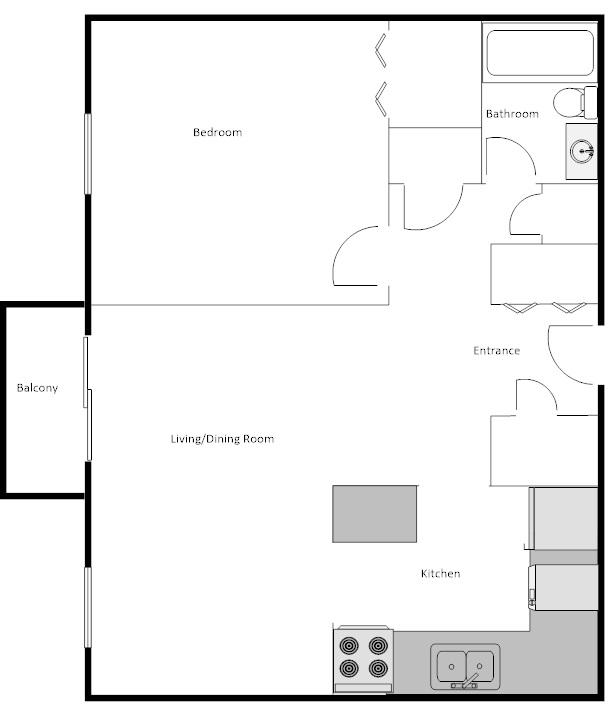Birchglen 1 bedroom